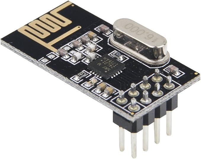 8pcs nRF24L01 2.4GHz Antenna Wireless Transceiver RF Transceiver Module Arduino Raspberry Pi Compatible K19