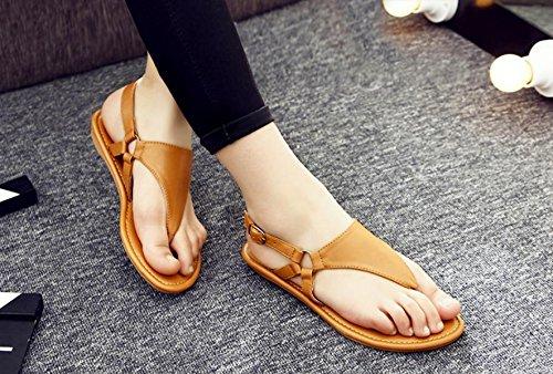 de las mujeres planas deportivo playa sandalia sandalias de los zapatos atléticos casuales , 10 , 38