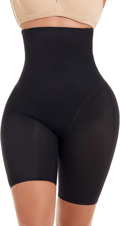 Larrycard Women Shapewear Tummy Control Body Shaper Short High Waist Thigh Slimmer