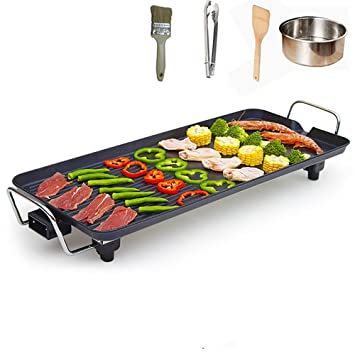 Grosse Teppanyaki Elektrogrill Indoor Hot Plate Bbq Fur Table Top