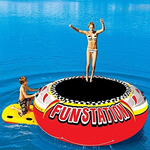 SPORTSTUFF 58-1035, 12' PVC Funstation Bouncer by SportsStuff