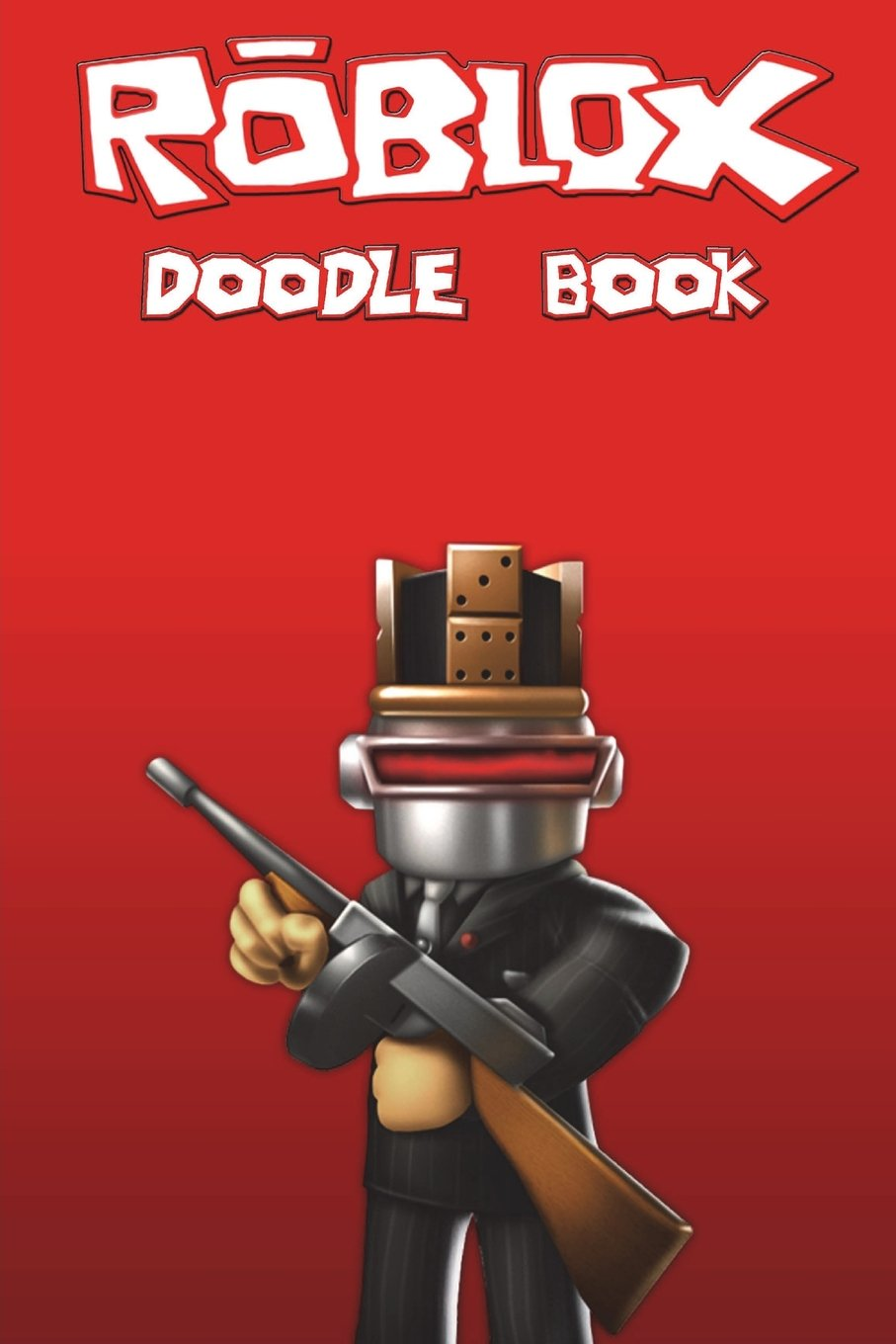 Amazon Com Roblox Doodle Book Over 150 Pages For You To Draw Your