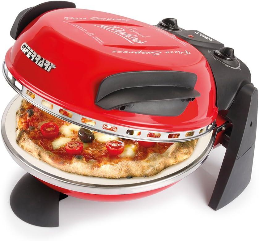 G3Ferrari 1XP20000 Pizza Express Delizia - Horno para pizza, color rojo