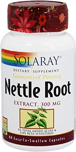 Nettle Root Extract Solaray 60 VCaps