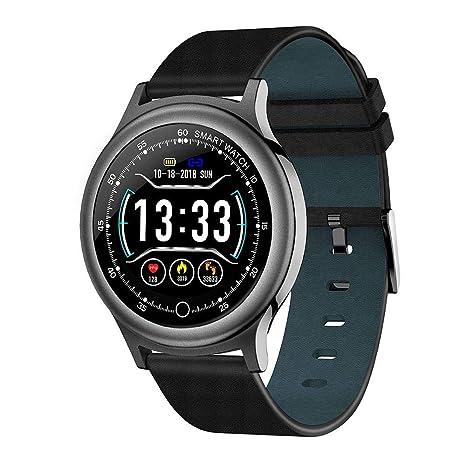 leegoal Casual Reloj Digital Inteligente Pantalla Tactil 1.3 Pulgadas,Smartwatch Deportivo para Hombre Mujer,