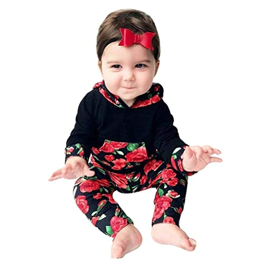 d0c02ede3 Amazon.com  Outtop(TM))) Toddler Infant Newborn Baby Girls Floral ...