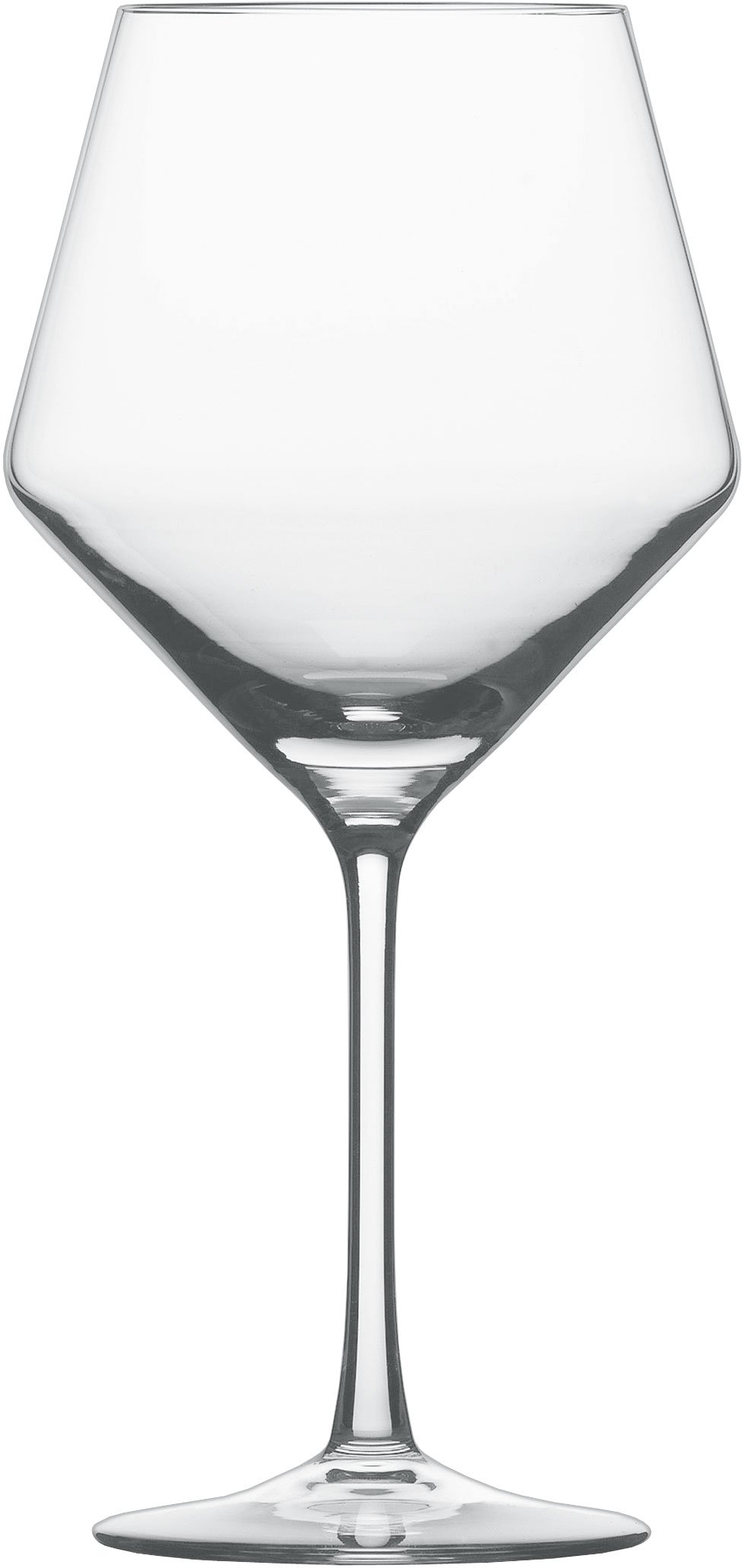 Schott Zwiesel Tritan Crystal Glass Stemware Pure Collection Burgundy Red Wine Glass, 23.4-Ounce, Set of 2