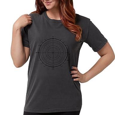 958fdeec5b Amazon.com: CafePress - Math Geek Unit Circle T-Shirt - Womens Comfort  Colors Shirt: Clothing