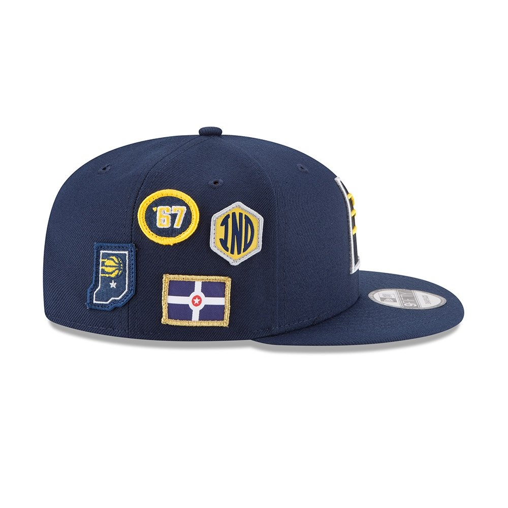 best loved 0d1de e5ac0 Amazon.com   New Era Indiana Pacers 2018 NBA Draft Cap 9FIFTY Snapback Adjustable  Hat- Navy   Sports   Outdoors