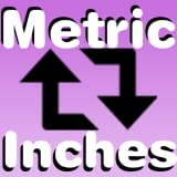 Metric Conversion - Calculator System Measure Meter to Inches