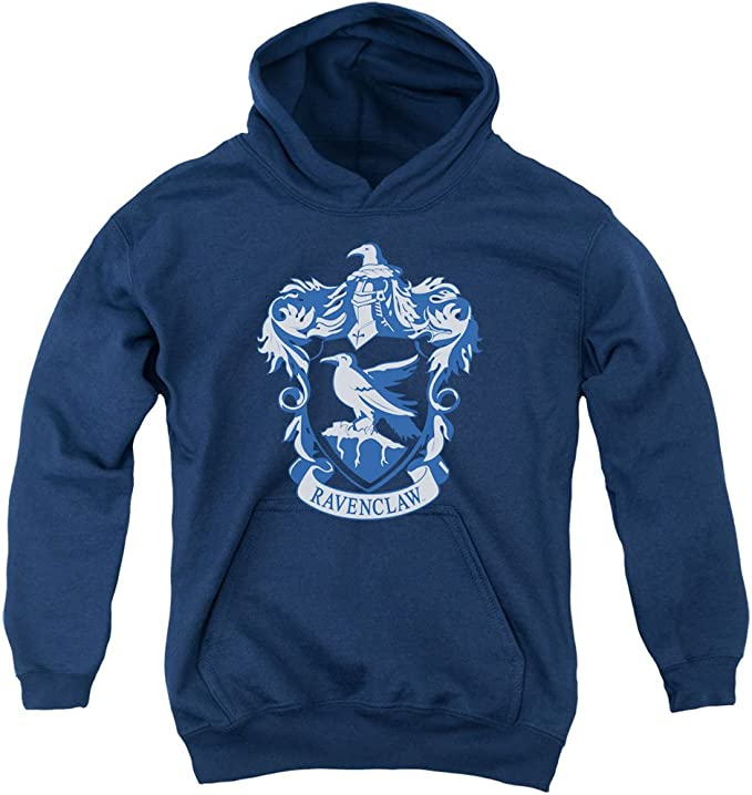 reasonably priced where can i buy new release Amazon.com: Harry Potter Ravenclaw Crest Youth Pull Over Hoodie ...