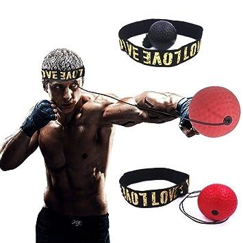 Boxing Reflex Ball Training Hand Augen Koordination mit Stirnband tragbarer