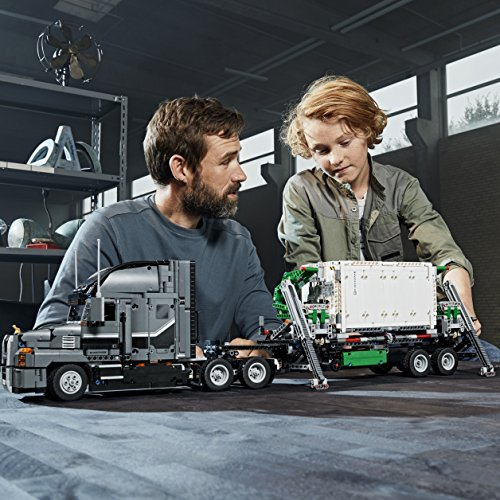 61NrY6k0PvL - LEGO Technic Mack Anthem 42078 Semi Truck Building Kit and Engineering Toy for Kids and Teenagers, Top Gifts for  Boys (2595 Piece)