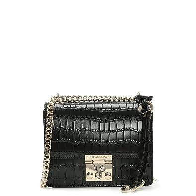 1c8b91fa18 Versace Jeans Moc Croc Black Shoulder Bag  Amazon.co.uk  Shoes   Bags