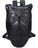Amazon.com | YOURNELO Women Cute Owl Print Backpack Casual College ...