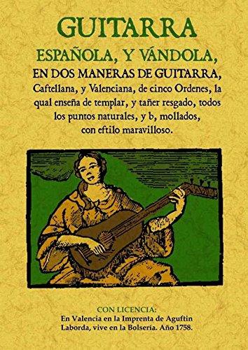 Guitarra Española, y Vandola, En Dos Maneras de Guitarra ...