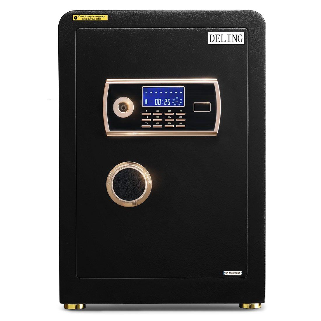 Doitpower 22 Inch 2.0 Cubic Feet Digital Electronic Safe Black Box Password Lock Home Office Use
