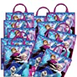 Disney Frozen Tote Bag Party Loot Bags Pack of 12