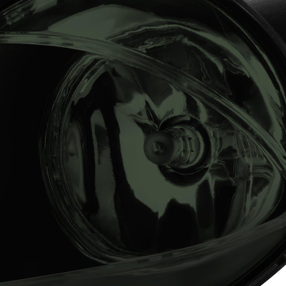 DNA MotoringFL-ZTL-112-SM Front Bumper Fog Light Driver and Passenger Side