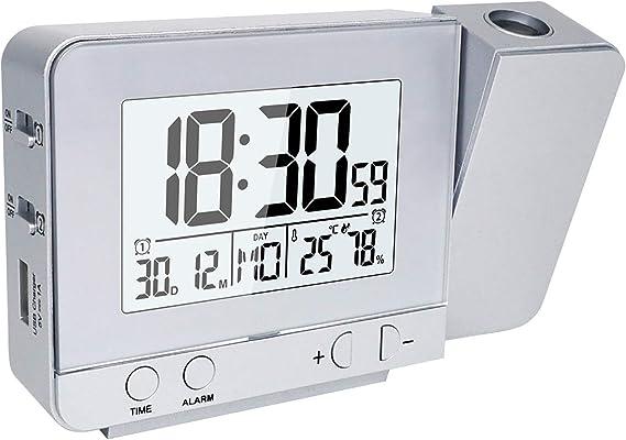 OurLeeme Relojes de Proyección, Despertador Proyector