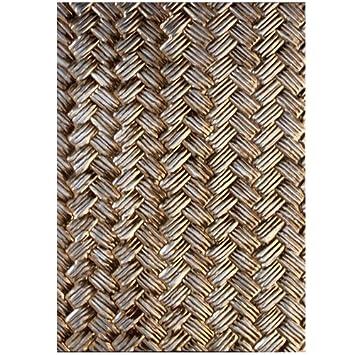 M-Bossabilities Spellbinder-Schablonen Papier Arts Basket Weave ...