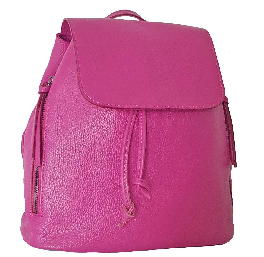 Bottega Carele, dam ryggsäck handväska fuchsia