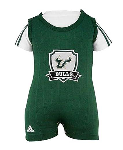 Amazon.com  2 Pc Bulls Adidas Green Baby Bodysuit Romper (3 to 6 ... 3dd4f8017