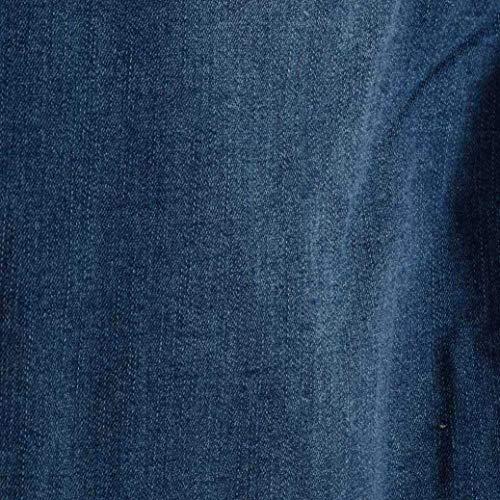 Aderenti Nero Blu Torn Comodo Di Uomini Moda Blau Hop Denim Rt Degli Pantaloni Hip Tendenza Estate Strada Fit Mutanda Del Slim Indossare Jeans Rtete Elastici Partito Pq7fSwxxg