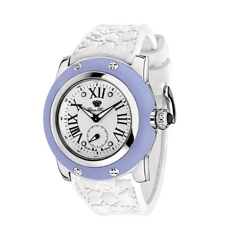 Glam Rock Womens GR30015AW Summer Time Collection Blue Silicone Watch