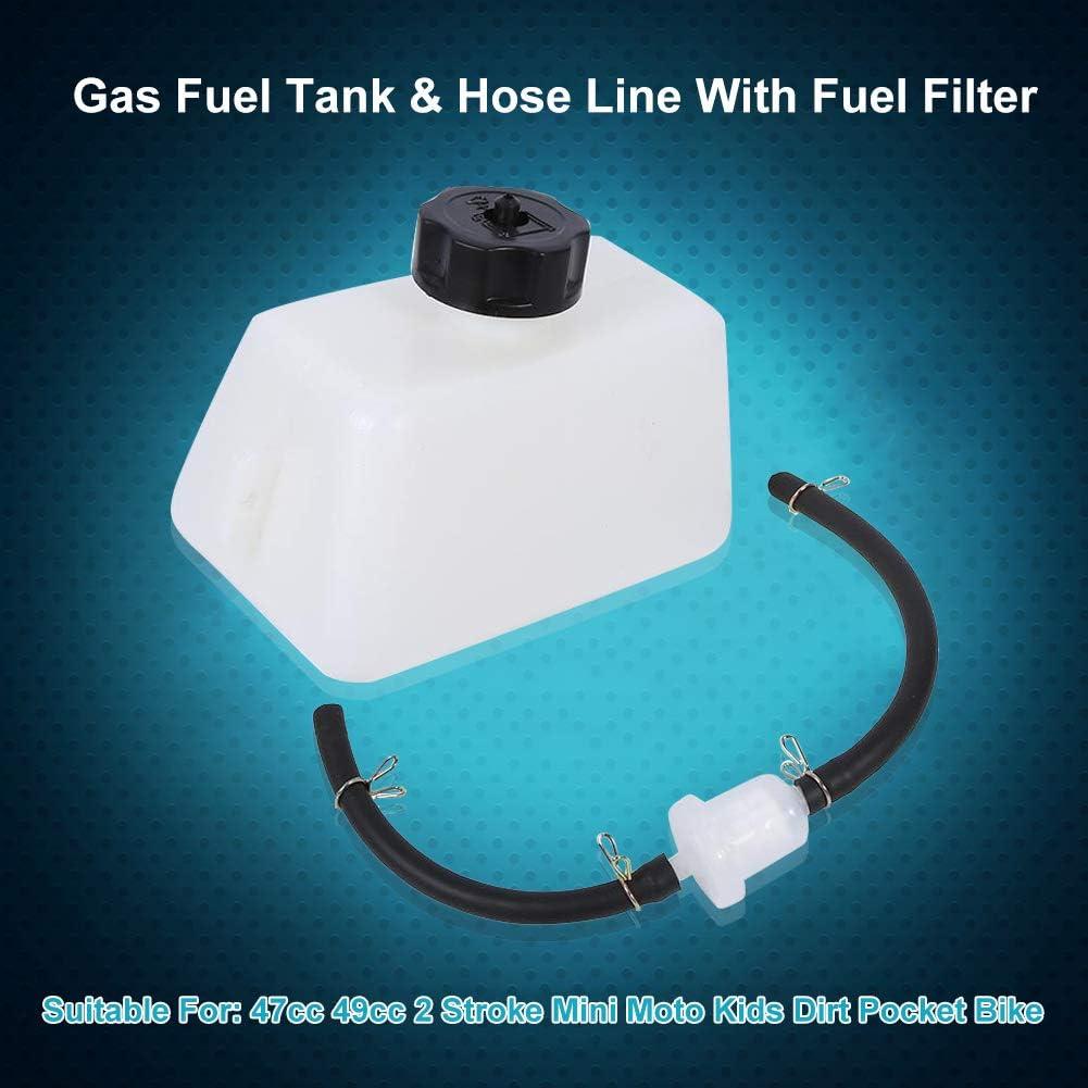 Gas Kraftstofftank Filterschlauch 47 Ccm 49 Ccm Kunststoff Und Gummi 1l Schlauch Atmungsaktiv Auslaufsicher Auto
