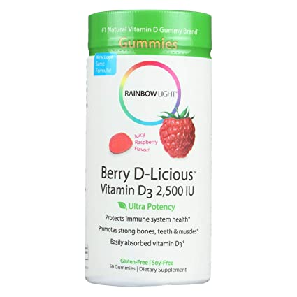 Berry D-Licious, vitamina D3, sabor a frambuesa, 2.500 UI ...
