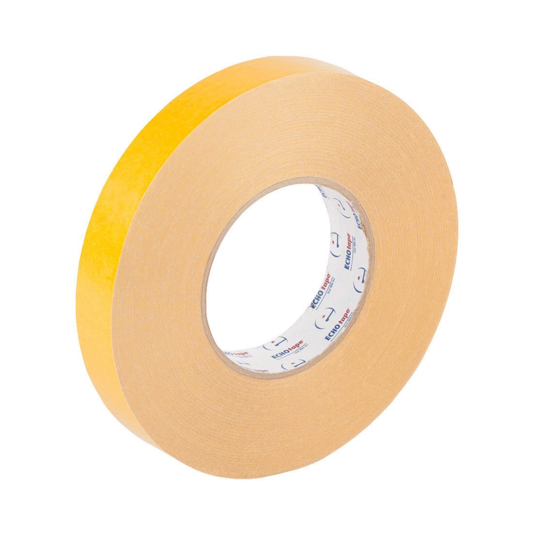 MWS Double Sided Coated High Tack PVC Tape Adhesive 9.5Mil 1inch x 56yd (24mmx50mm)