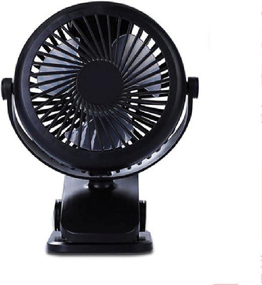 Pequeño ventilador mini dormitorio recargable del estudiante mudo ...