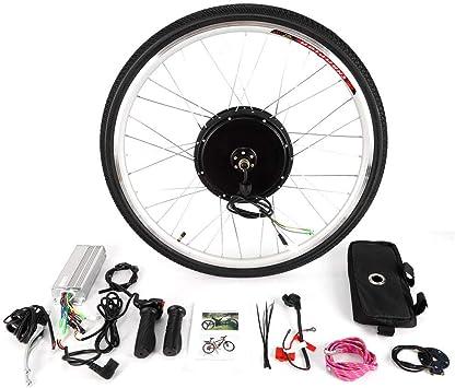 OUKANING - Kit de conversión de Motor Trasero para Bicicleta eléctrica de 28