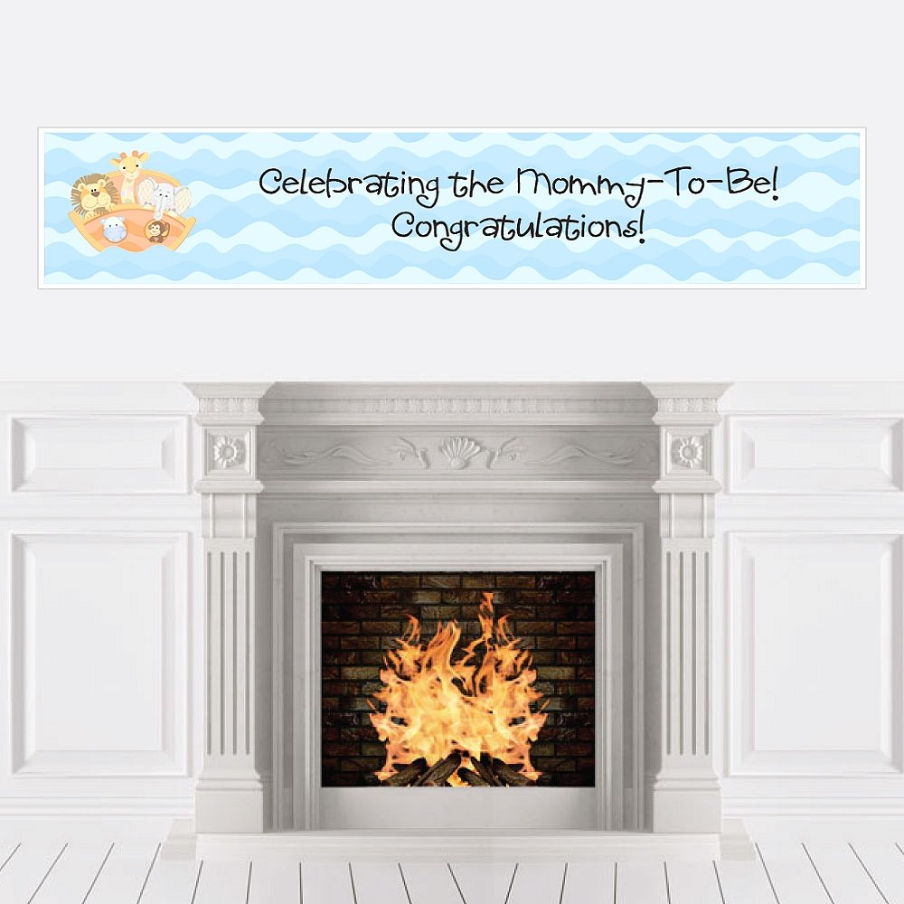 Noah's Ark - Baby Shower Decorations Party Banner