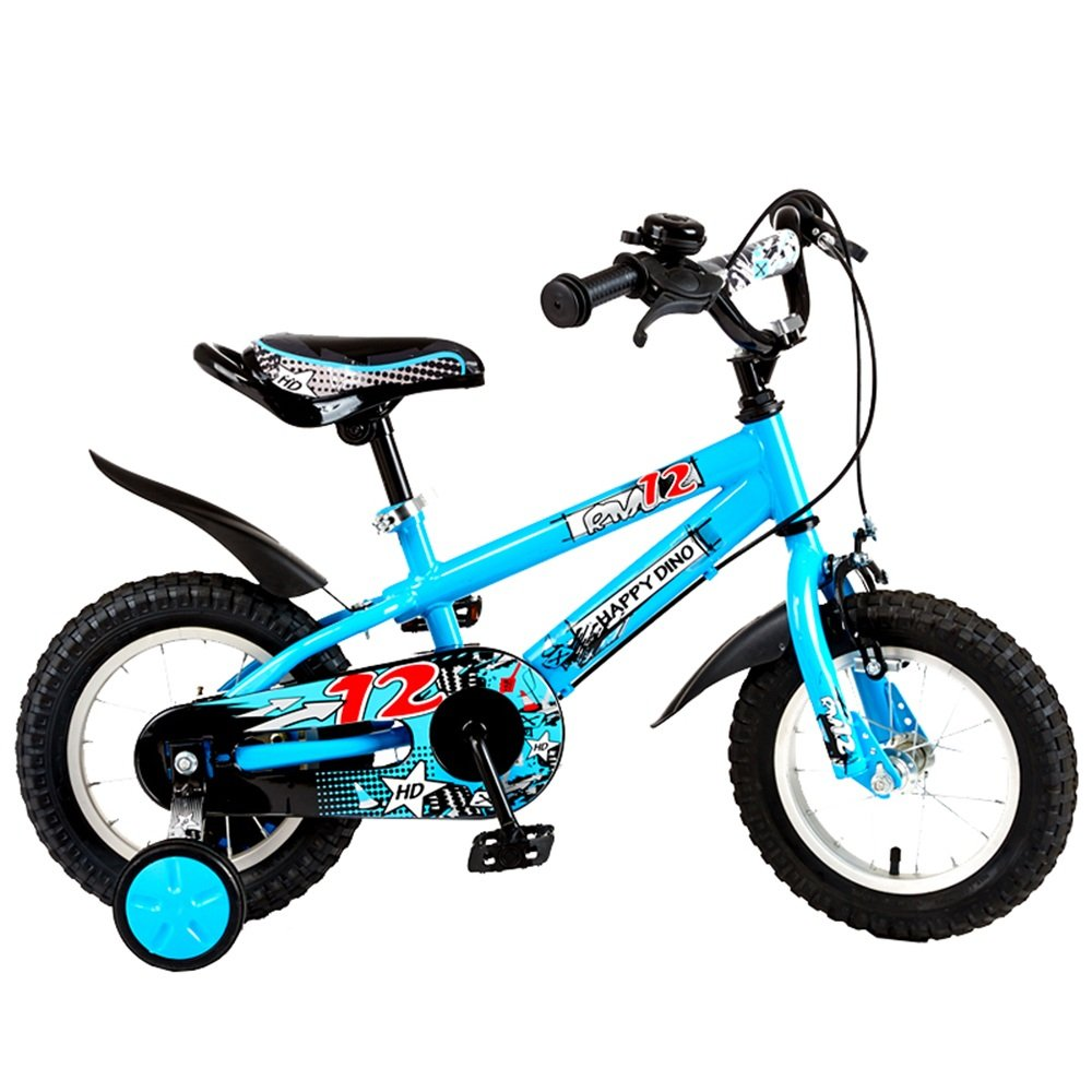 子供3歳から7歳の少年少女の自転車12/14/16インチの赤ちゃんの車の自転車 ( 色 : 青 , サイズ さいず : 12インチ ) B07CNBGYJF 12インチ|青 青 12インチ