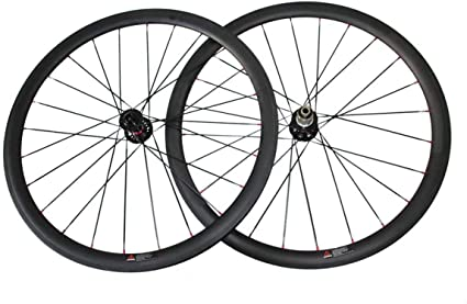 Carbon Wheelset 700C Clincher Disc Brake 88mm Carbon Road Cyclocross Bike Wheels