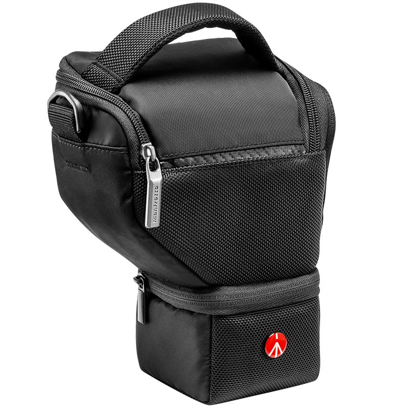 Manfrotto Extra Small Plus Advanced Holster for Camera and Memory Cards