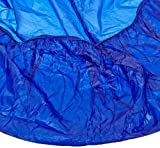Kwik-Cover 60PK-B 60'' Round  Kwik-Cover - Blue Fitted Table Cover (1 full case of 50)