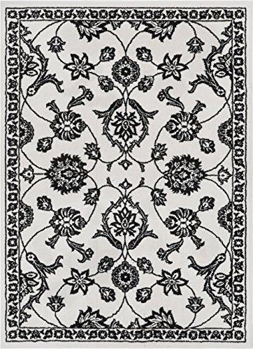 Well Woven KA-93-5 Kasper Stupendous Traditional Oriental Persian Black Soft Area Rug 5'3