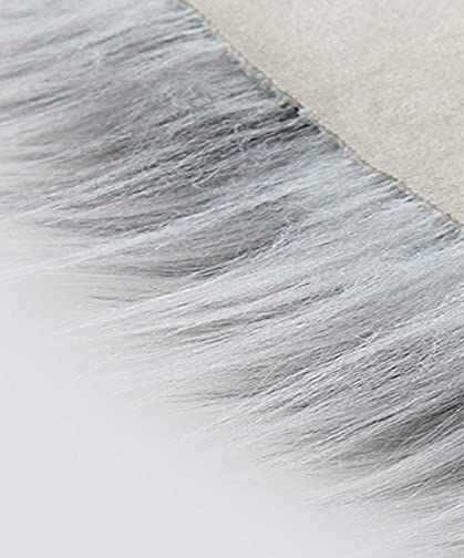 ZaH Shag Area Rug 2 x 3 FT Animal Shaggy Carpet Home Decor Soft Fluffy Fur Mat
