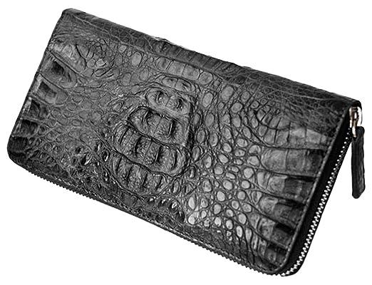 09cf88d5e354 Amazon.co.jp: お財布 メンズ クロコダイル革ラウンド長財布【ブランド ...