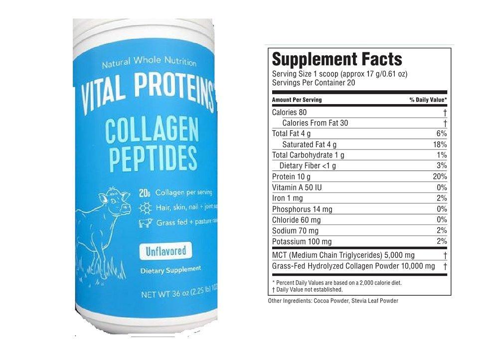 Vital Proteins Collagen Peptides, 36 oz