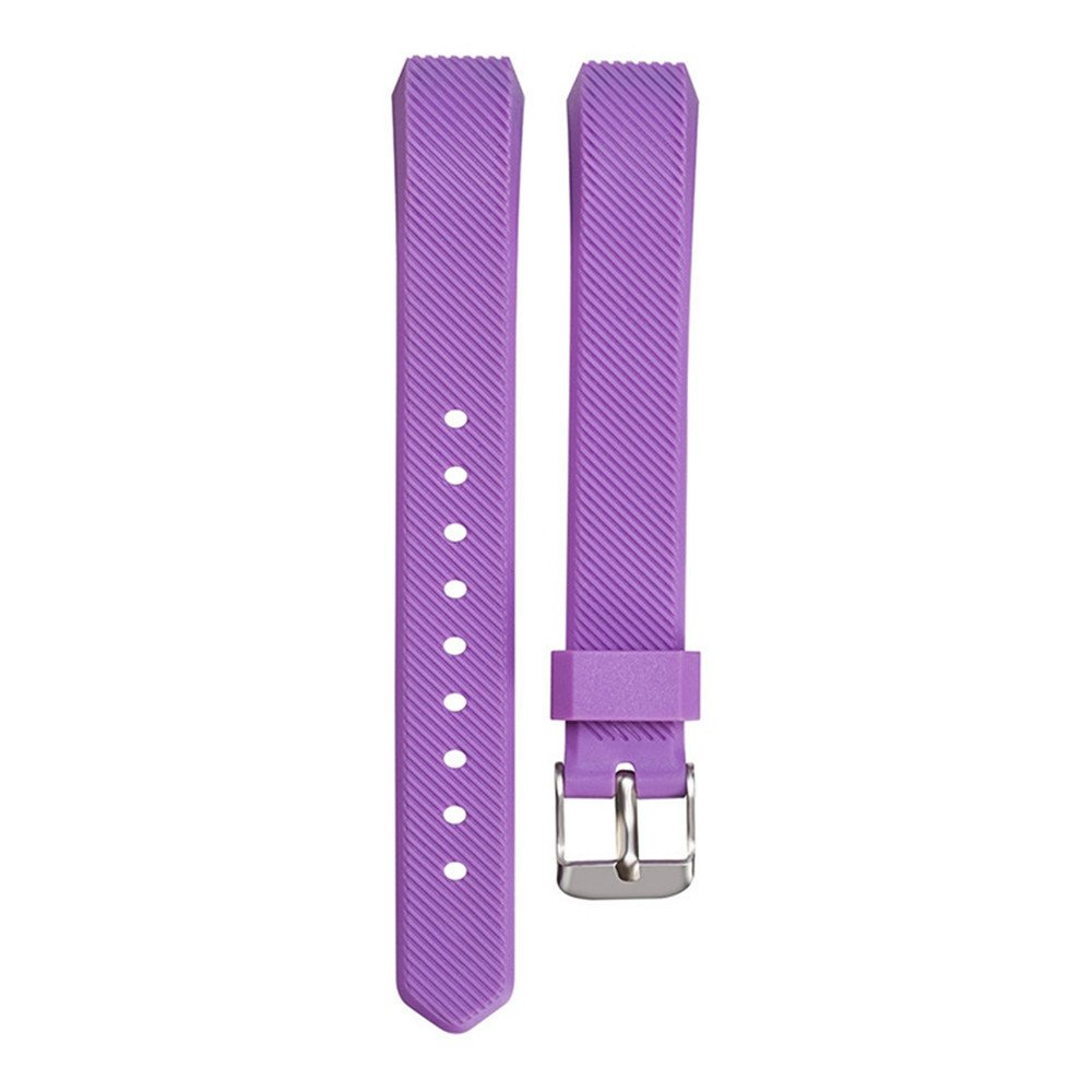 Ugood_ 2019 Replacement Wrist Band Silicon Strap for Fitbit Alta/Alta HR Smart Watch Bracelet (Purple)