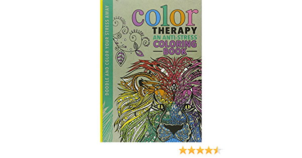 Amazon.com: Color Therapy: An Anti-Stress Coloring Book: Wilde, Cindy,  Chapman, Laura-Kate, Merritt, Richard: Books