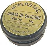 Graxa de Silicone Dielétrica 10g IMPLASTEC, IMPLASTEC, IGS 2972, Não se Aplica