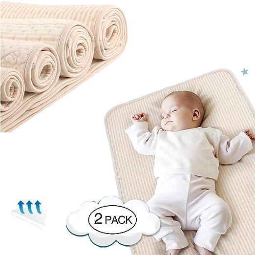 Colchon Cuna Impermeable, Bebé Impermeable Cojín de Cama ...