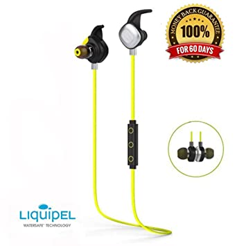 Auriculares Bluetooth AELEC BTE268, Auriculares inalámbricos dentro de oído, a prueba de sudor oreja