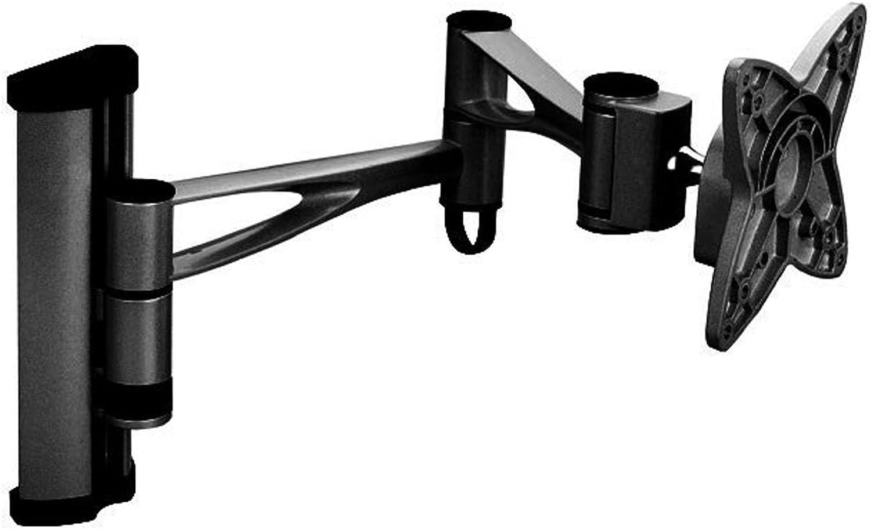 Black Full-Motion Tilt/Swivel/Rotation Wall Mount Bracket for Dell 2009Wt 20