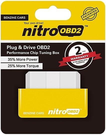 Fitting Drive Eco Minkoll Nitro Obd Chip Tuning Box For Benzine Diesel Car Engine Power Yellow Nitro Auto